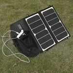 New-Release-Poweradd-High-Efficiency-14W-Foldable-Solar-Panel-Portable-Solar-Charger-for-iPhones-iPads-Samsung-Galaxy-Phones-other-Smartphones-and-Tablets-Gopro-Cameras-and-More-0