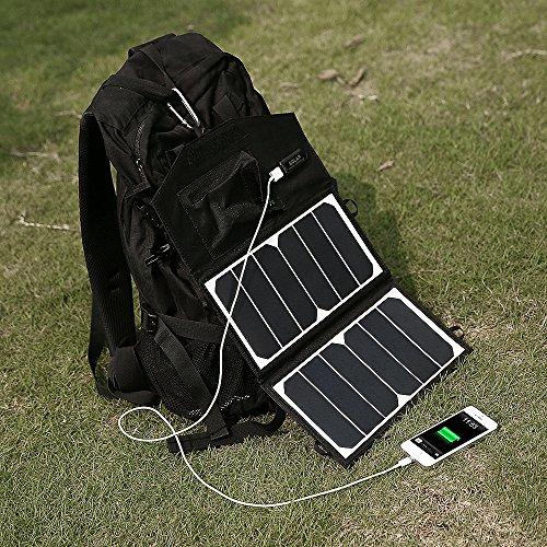 New Release Poweradd High Efficiency 14w Foldable Solar
