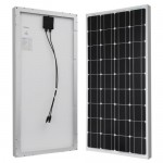 RENOGY-100-Watt-100w-Monocrystalline-Photovoltaic-PV-Solar-Panel-Module-12V-Battery-Charging-0